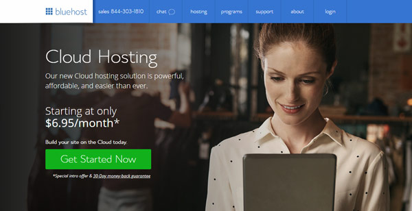 Bluehost cloud similar to digitalocean