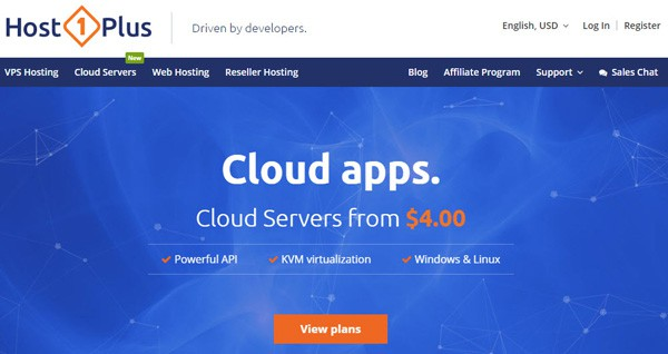 Host1Plus best digitalocean alternative 2019